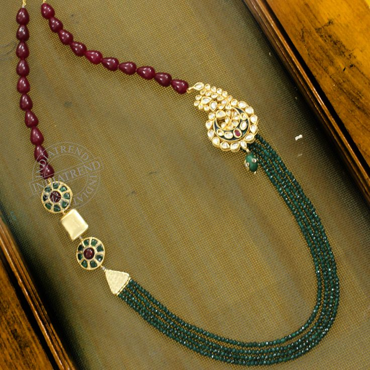 Shabeena Necklace by Indiatrend. Shop Now at WWW.INDIATRENDSHOP.COM