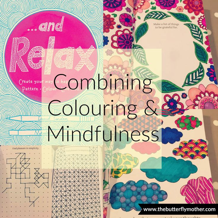 Combine adult colouring & mindfulness beautifully with ...And Relax  Click to read full review