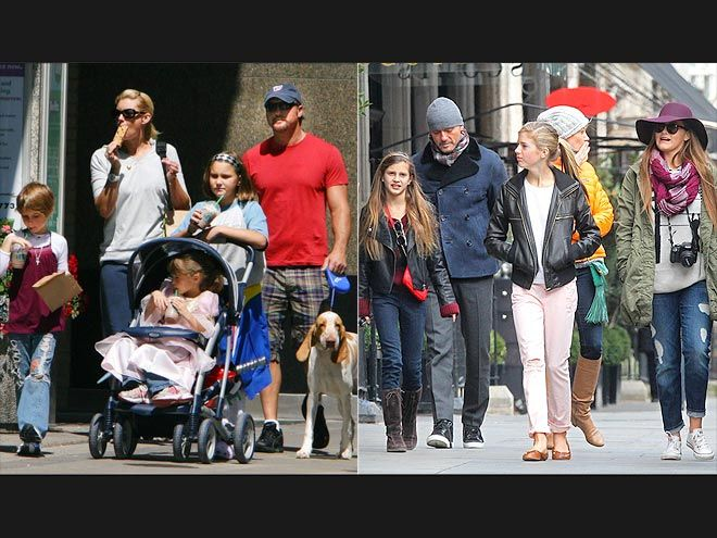 Then & Now: Celeb Kids All Grown Up! | GRACIE, MAGGIE & AUDREY MCGRAW | Then: Back in 2008, the 11-, 9- and 6-year-olds were musical parents Faith Hill and Tim McGraw's cutest fan base.   Now: Nearly five years later, the trio – 15, 14 and 11 – are certainly coming of age but are still devoted to fun family time.