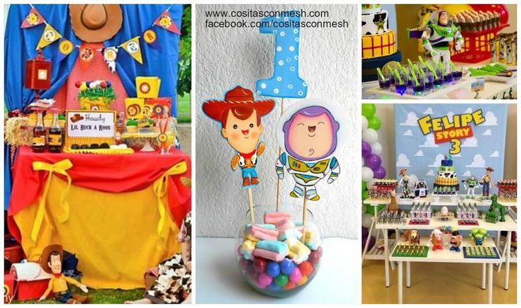 Cómo hacer centros de mesa de Toy Story con moldes