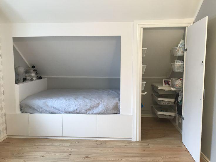 # Wand # Kinderzimmer # Bett #krypin