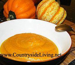 Суп с печеным картофелем