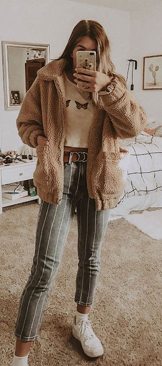 45 Lovely Winter Outfits to Own Now Vol. 2 / 56 #Winter #Outfits – casual fall outfit, spring outfit, style, outfit inspiration, millennial fashion, s…