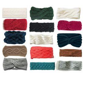 DIY knit twisted headband