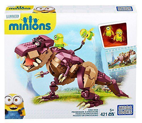 Origen: ¡Chollo! Juguete Minions Dino Crominion barato de Mega Blocks por 20 euros – Sodial