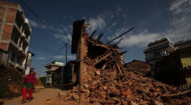 Kathmandu: The paved alleys are still lined by the skeletons of homes once filled with families. Shop shelves are empty, and the water well in the center of town remains clogged by fallen debris. Children carefully side-step piles of broken brick on their way to school. This is life today in the...