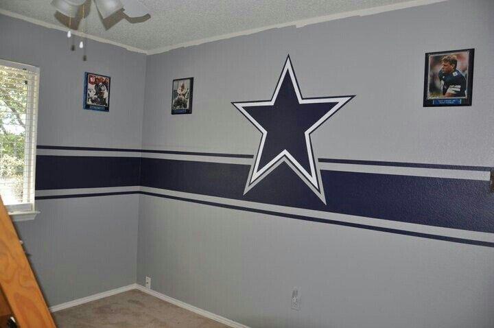 dallas cowboy room idea