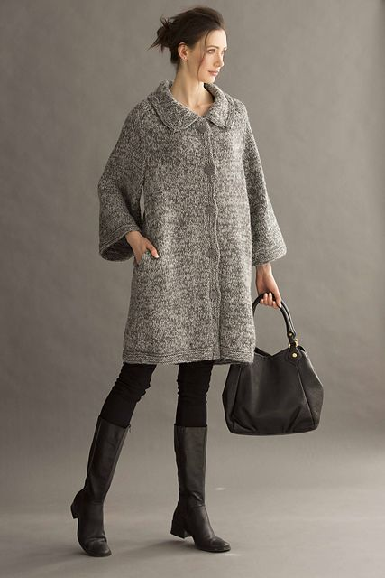 Knitting Patterns Jackets And Coats : 17 Best ideas about Knitted Coat Pattern on Pinterest Coat patterns, Girl d...