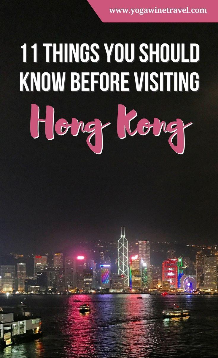 11 Things You Should Know Before Visiting Hong Kong Hong Kong