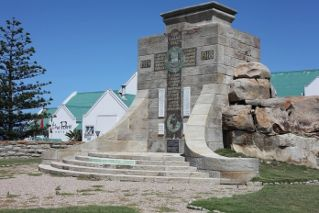 War memorial in Mossel Bay, South Africa