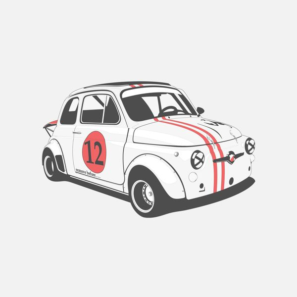 Fiat 500 Abarth by Marc Carreras