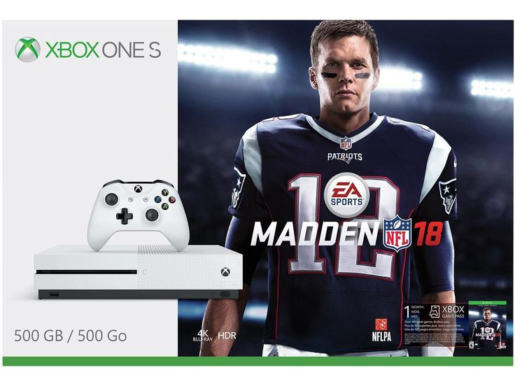 NEW Microsoft Xbox One S Madden NFL 18 Bundle 500GB White Console | eBay