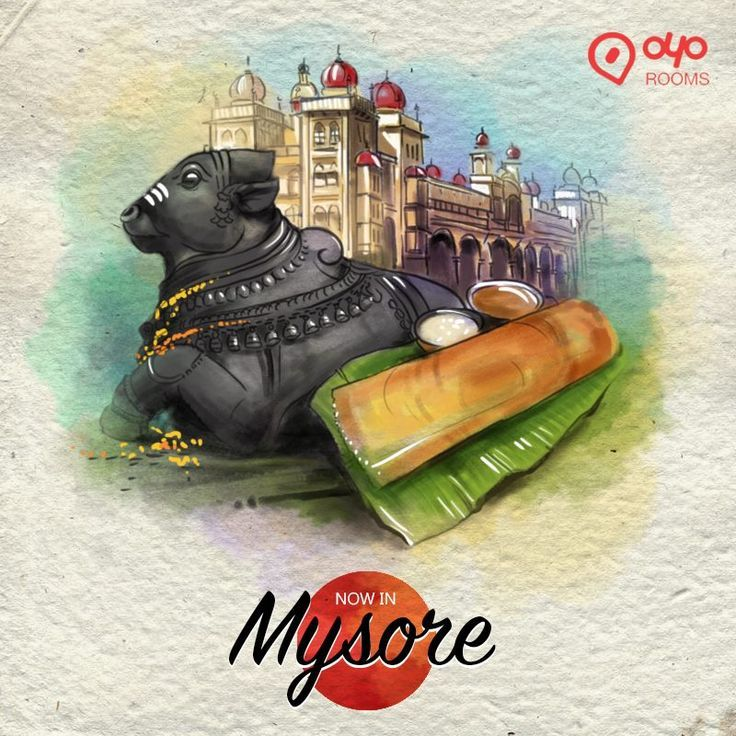 Let the drums roll! We are now in the royal city of #Mysore, the land of silk, spices and sandalwood. Visit #OYORooms to book an OYO here.