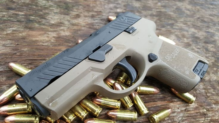 Sig P320 Subcompact...The Supreme Striker Fired Sig! - YouTube