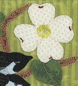 26 best Dogwood quilts images on Pinterest | Beautiful, Embroidery ... : dogwood quilt pattern - Adamdwight.com