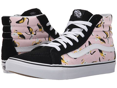 Vans SK8-Hi Slim (Bananas) Ballerina/True White - Zappos.com Free Shipping BOTH Ways