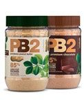 http://carbessentials.net/products/pb2 Powdered peanut butter created through a unique process that removes 90% of the fat from the peanut. Reconstitute with any liquid, add to smoothies or protein drinks. Same consistency as full fat peanut butter with all the flavor and 85% fewer fat calories. Add some zip to your diet with regular or chocolate powdered peanut butter.