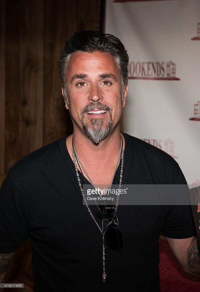 Richard Rawlings signs copies of his new book 'Fast N' Loud: Blood Sweat And Beers' at Bookends on May 11, 2015 in Ridgewood, New Jersey.