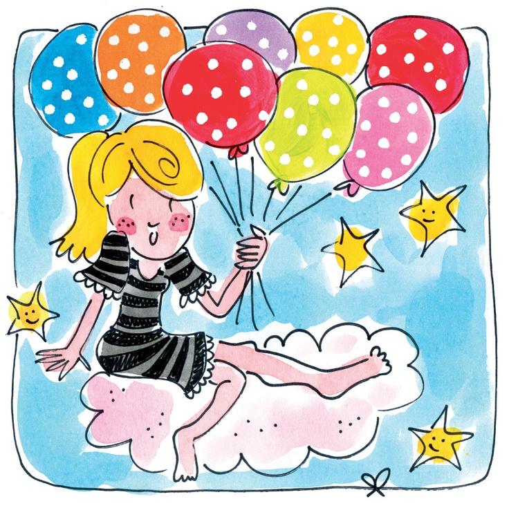 Ballonnen kaart van Blond Amsterdam