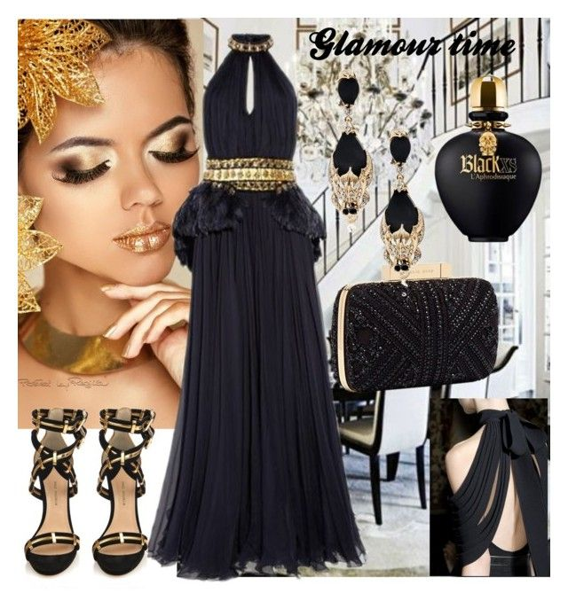 """GLAMOUR TIME"" by kidsfashion001 on Polyvore featuring Elie Saab"