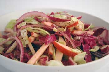 Easy Organic Coleslaw With Dried Cranberries Recipe