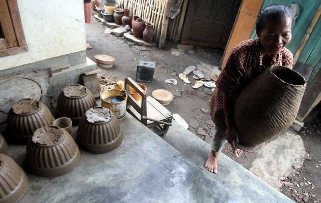 Industri keramik. (Dok.Tommy Satria)