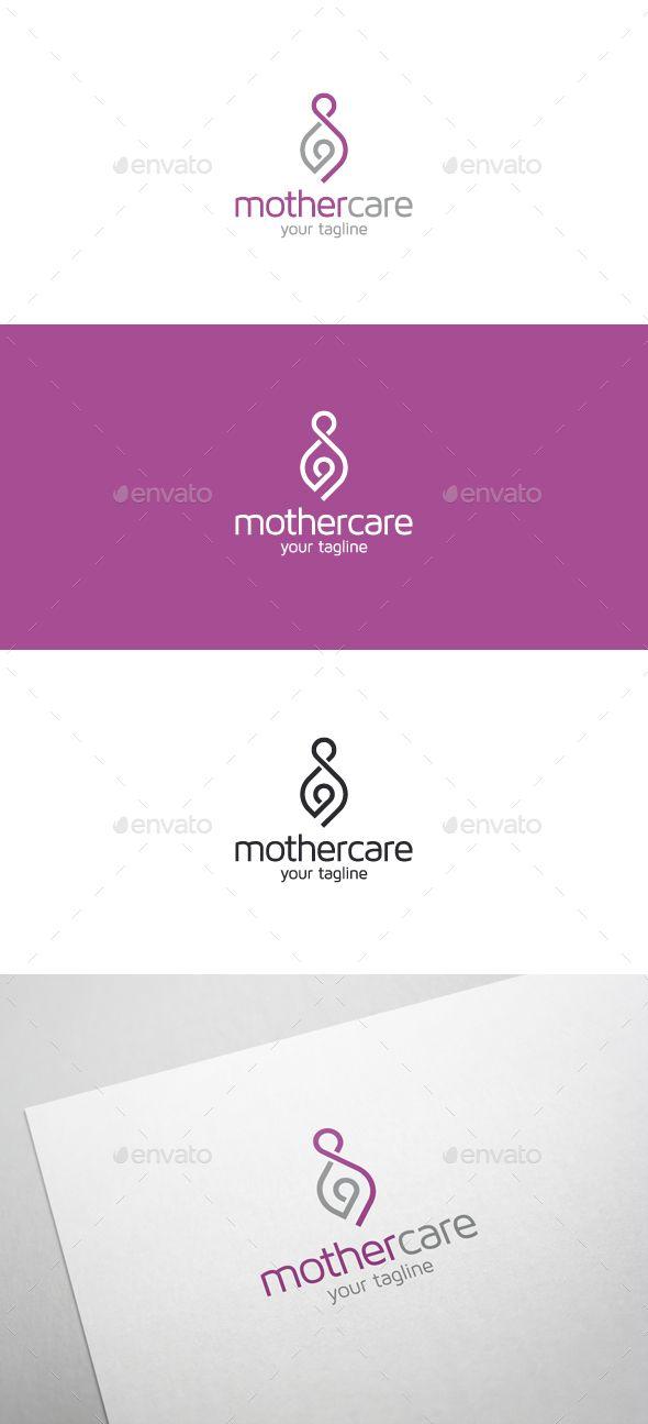 Mother Care Logo - Humans Logo Templates