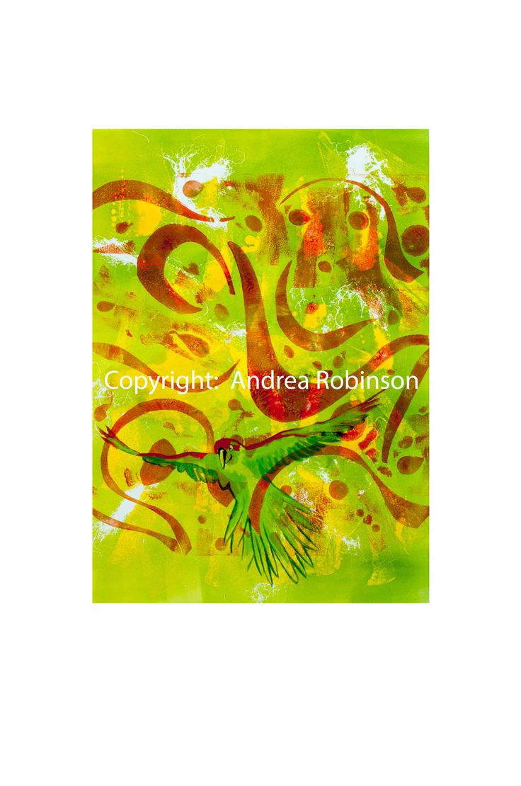 Kakariki Andrea Robinson Fine Art www.andrearobinson.co.nz
