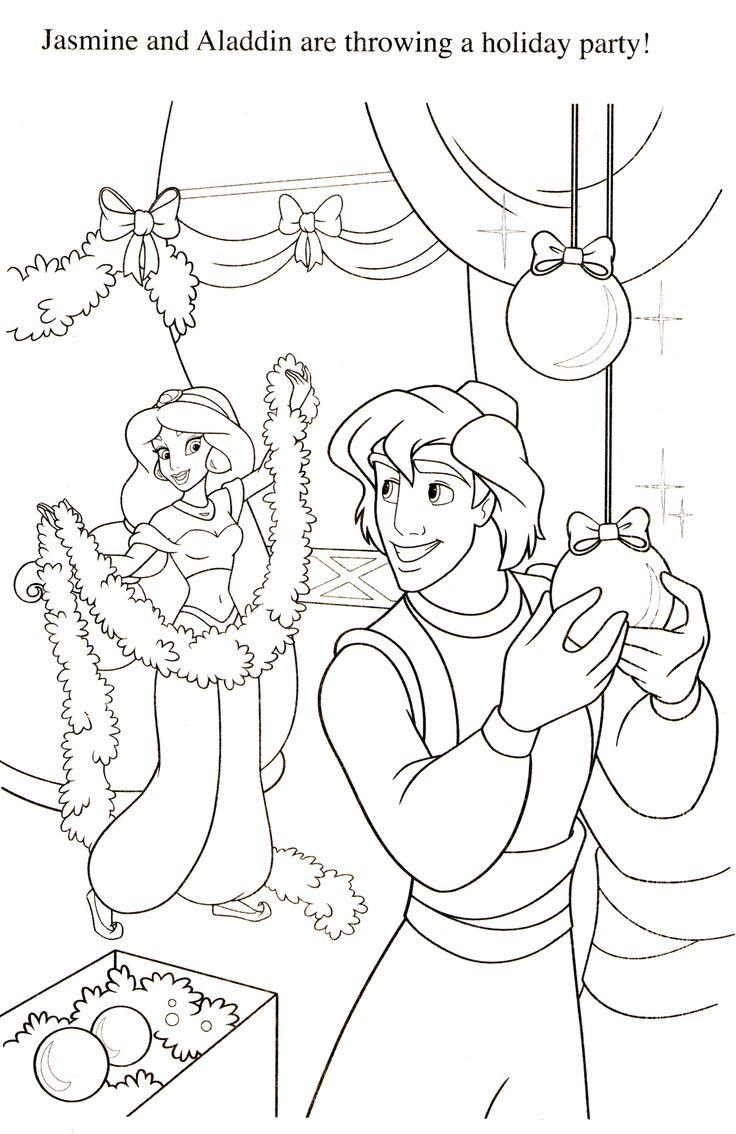 Disney Coloring Pages  Coloriage noel, Coloriage, Noël disney