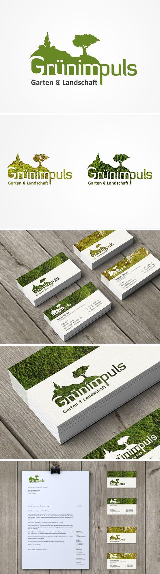 Für Grünimpuls Garten & Landschaft entwickelte Smoco das Corporate Design…