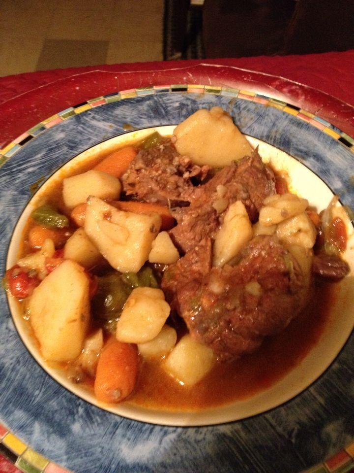 Southern Neck Bone Stew