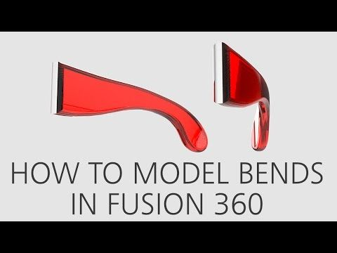 How to model bends in Fusion 360 | Fusion 360 | Autodesk Knowledge Network