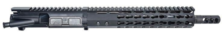 "AR-15 UPPER ASSEMBLY - 10.5"" / 5.56 X 45 / FLASH HIDER SKU 150-520 / 10"" CBC KEYMOD AR-15 HANDGUARD / RAIL"