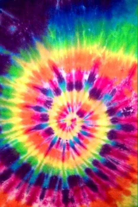 Colorful tie dye | We Heart It