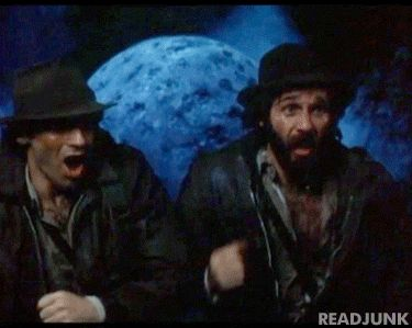 Hudson Brothers spoofing Indiana Jones in the movie Hysterical -- I haven't heard anything about the Hudson brothers for years.  I used to have the most ridiculous crush on those guys.  One of them is Kate Hudson's father.