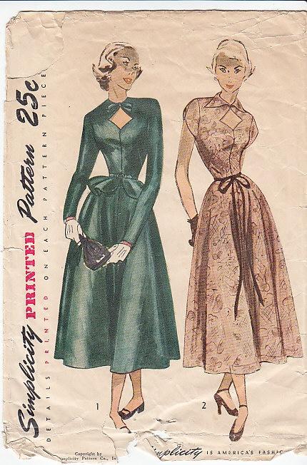 Simplicity 2779 - 40s Dress Pattern