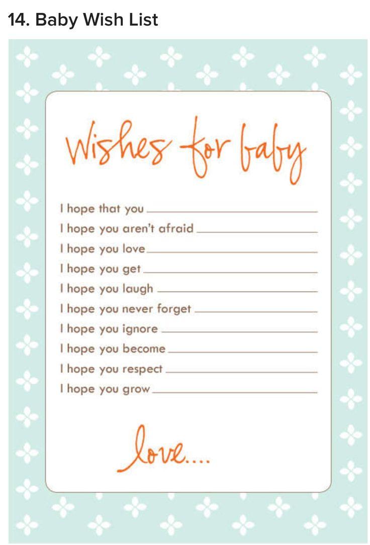 120 besten baby shower GAMES Bilder auf Pinterest | Bingo ...