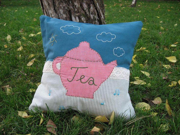 Tea Time Cushion