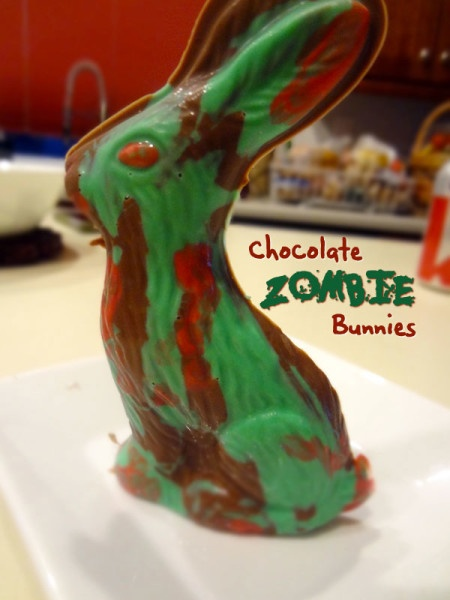 Make your own Chocolate Zombie Bunnies!