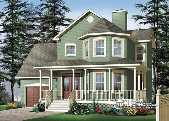 265 best Modèles de maison champêtre ou Plan de maison de campagne ...