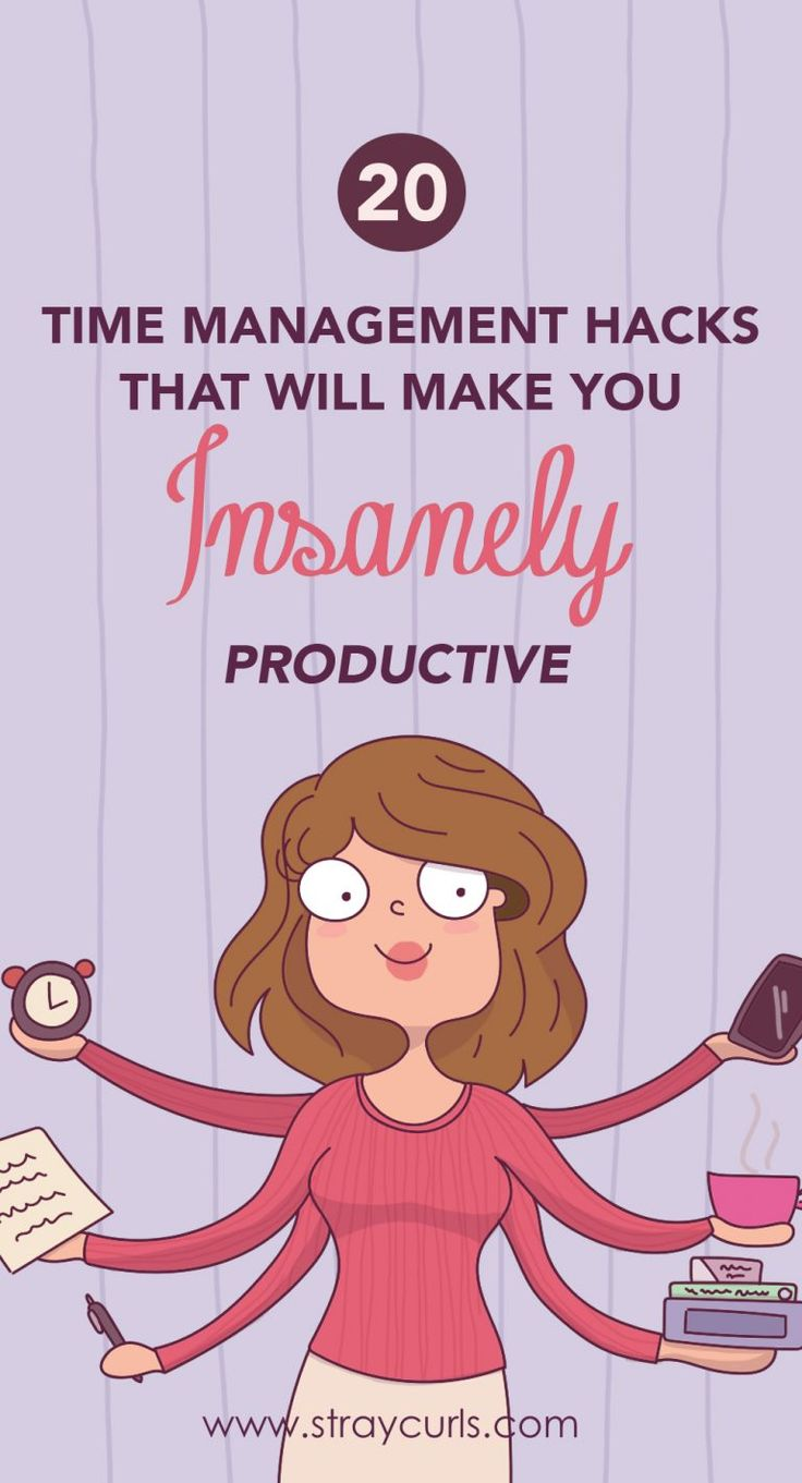 20 Time Management Hacks to make you Insanely Productive