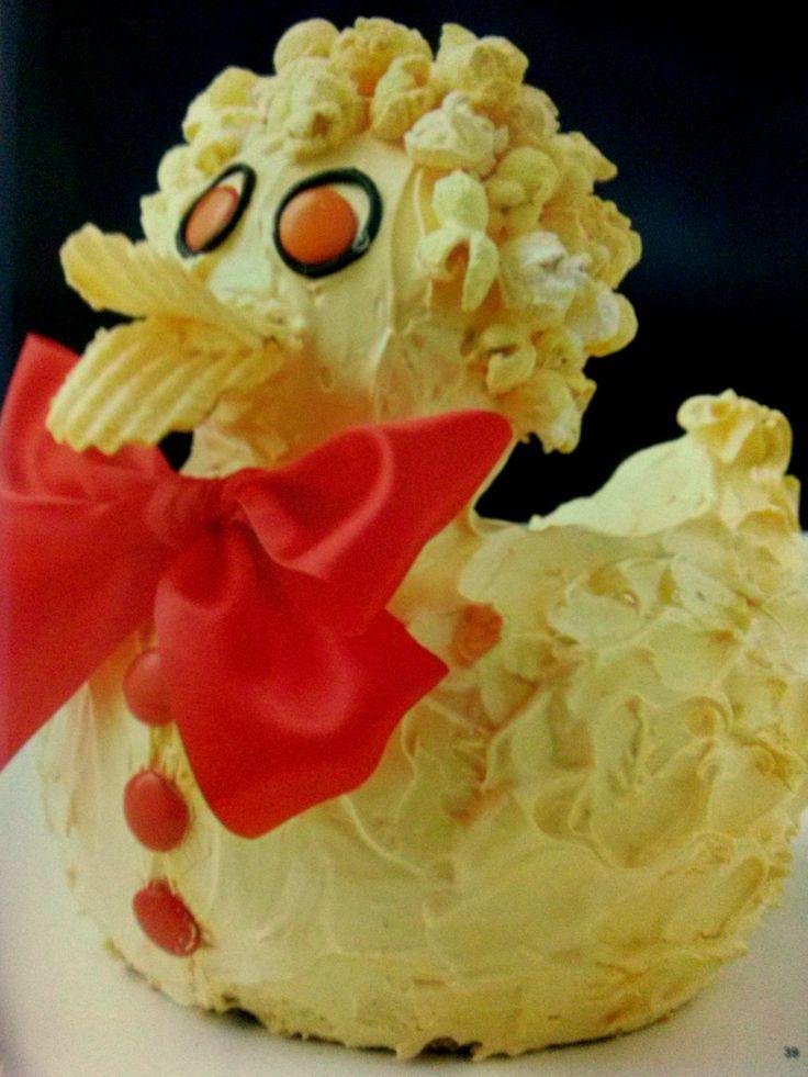 Duck Cake - The Australian Women's Weekly Children's Birthday Cake Book