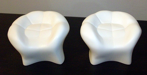 Tooth chairs-they look comfy!