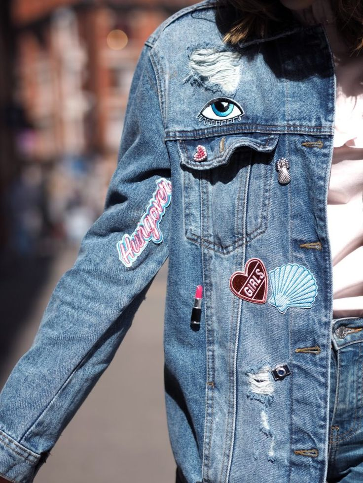 The customised jacket with patches and pins is the must have piece of the season, and in my opinion an absolute spring/summer essential. A denim jacket is the kind of piece that works with pretty much everything, it's a piece that I believe everyone can rock, no matter what your vibe is, even more so …