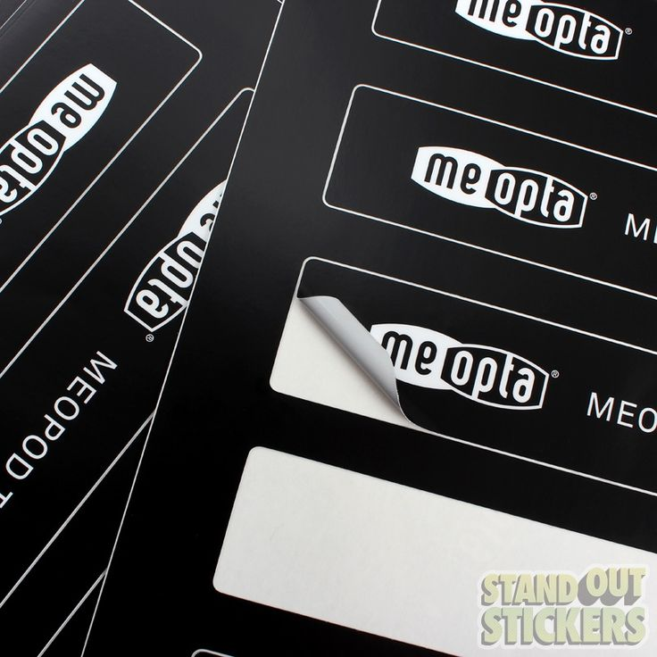 Best Rectangle Stickers Custom Stickers Images On Pinterest - Promotional custom vinyl stickers cheap