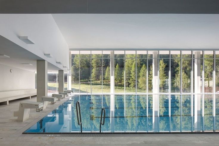 OVAVERVA Indoor Swimming Pool, Spa And Sports Centre St. Moritz - Picture gallery