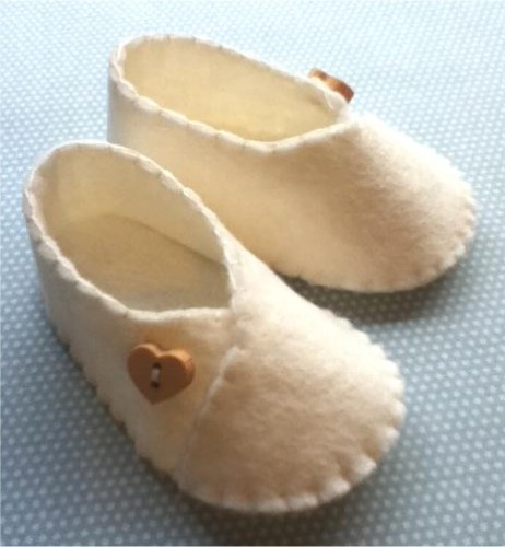 15 Must-see Felt Baby Shoes Pins | Baby shoes pattern, Felt shoes ...