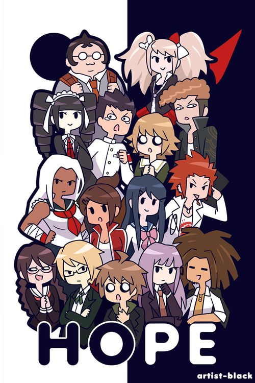 Can't wait for both parts dangan ronpa 3 to finally get released