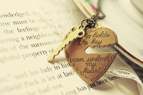 """""""He who holds the key can unlock my"""