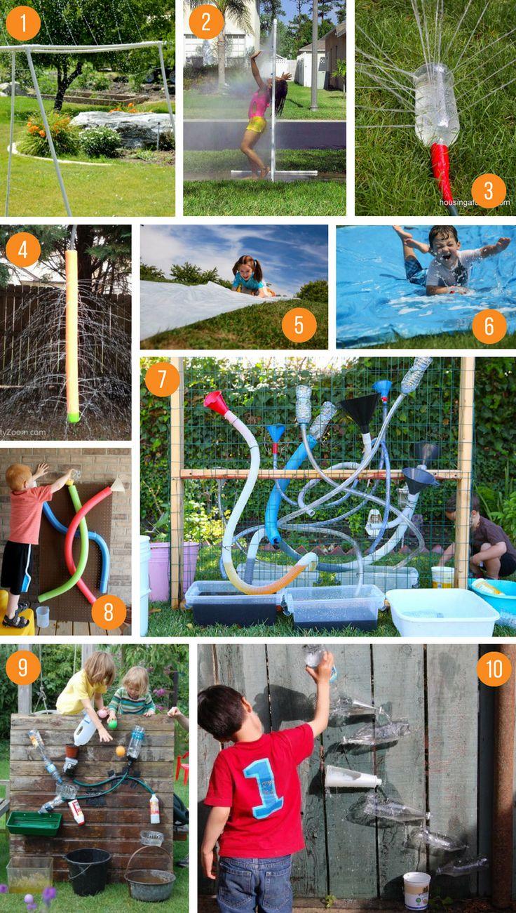 Best Outdoor DIY Water Activities for Kids